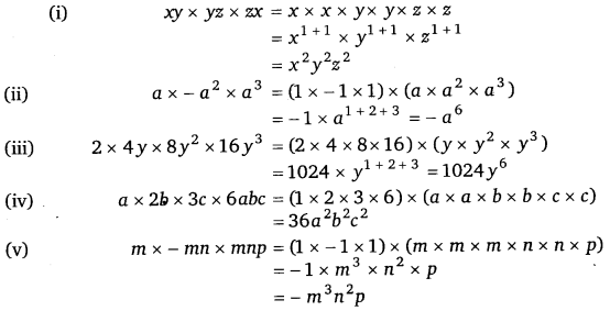NCERT Solutions for Class 8 Maths Chapter 9 Algebraic Expressions and Identities 8