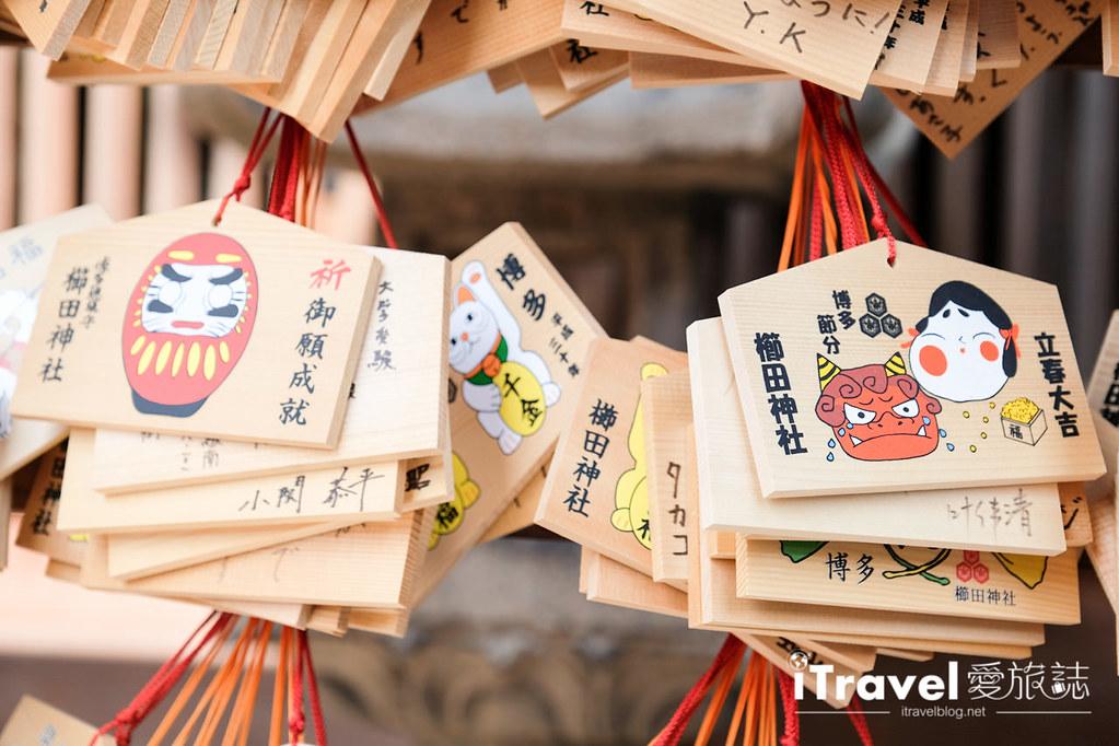 福岡賞櫻景點 櫛田神社 (17)