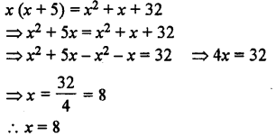 Selina Concise Mathematics class 7 ICSE Solutions - Simple Linear Equations (Including Word Problems) -b20