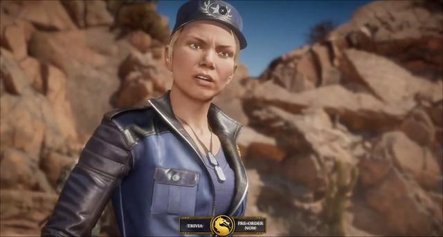 Mortal Kombat 11 - Sonya Blade