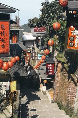Jiufen, Taiwan in 2009