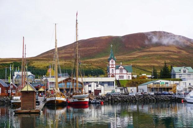 Húsavík Port, Northern Iceland