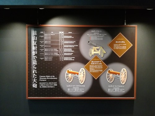 Tipos de cañones que se forjaron en el horno de Nirayama