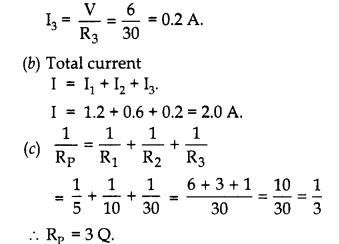 RBSE Solutions for Class 10 Science Chapter 10 Electricity Current AL Q3b