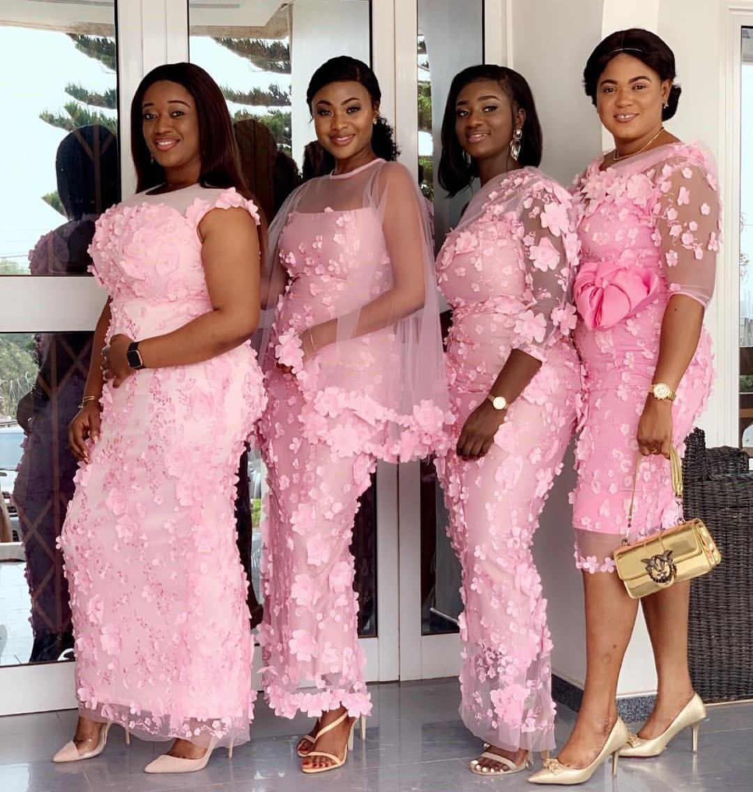GORGEOUS AND FRESH PINK ASO EBI DRESS FOR YOUR EVENTS    3
