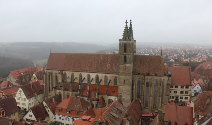 St. Jacob's church in Rothenburg ob der Tauber
