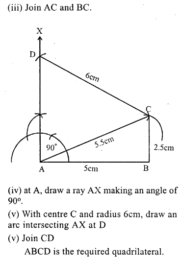 ML Aggarwal Class 9 Solutions for ICSE Maths Chapter 13 Rectilinear Figures  ex 2  3a