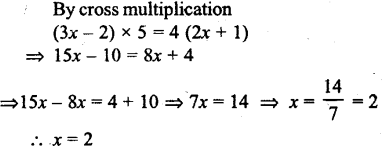 Selina Concise Mathematics class 7 ICSE Solutions - Simple Linear Equations (Including Word Problems) -c24..