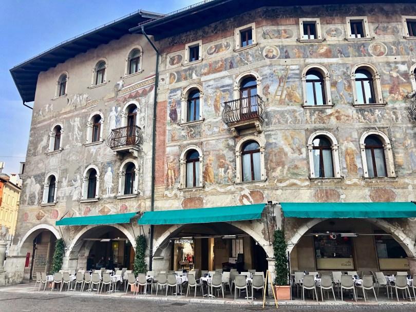 Itinerario di Trento - Case Cazuffi e Rella