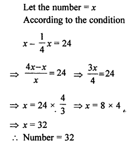 Selina Concise Mathematics class 7 ICSE Solutions - Simple Linear Equations (Including Word Problems) -d5