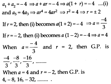 NCERT Solutions for Class 11 Maths Chapter 9 Sequences and Series 54
