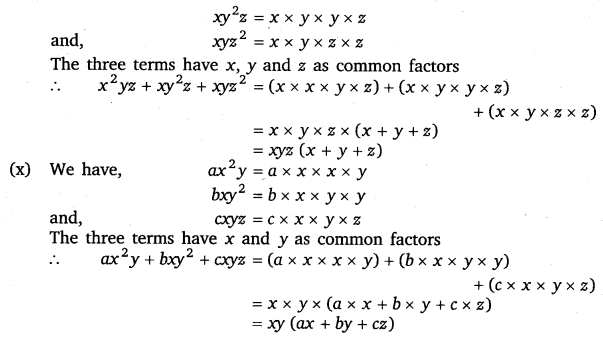 NCERT Solutions for Class 8 Maths Chapter 14 Factorisation 4