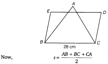 NCERT Solutions for Class 9 Maths Chapter 12 Heron's Formula 15