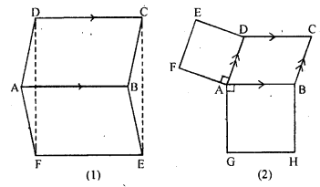ML Aggarwal Class 9 Solutions for ICSE Maths Chapter 13 Rectilinear Figures  ex 22