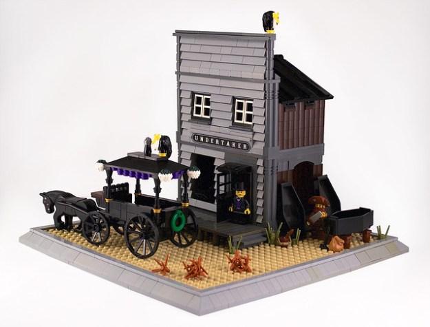Undertaker's office