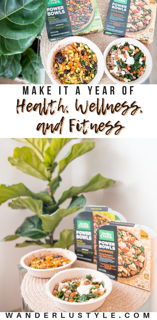 Health, Wellness, and Fitness with Healthy Choice Power Bowls