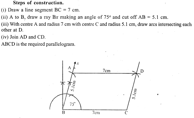ML Aggarwal Class 9 Solutions for ICSE Maths Chapter 13 Rectilinear Figures  ex 2  7