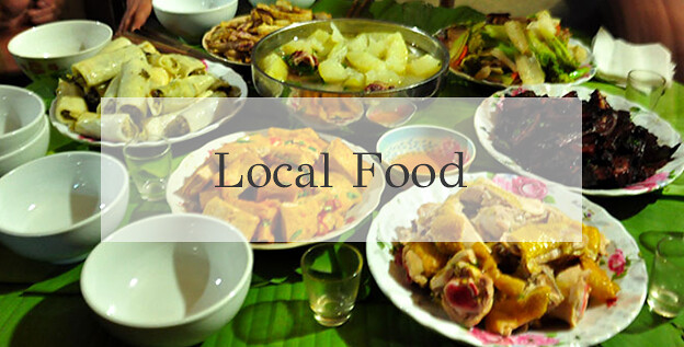 Ba be local food