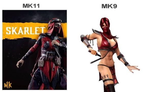 Mortal Kombat 11 - Scarlet vs Scarlet