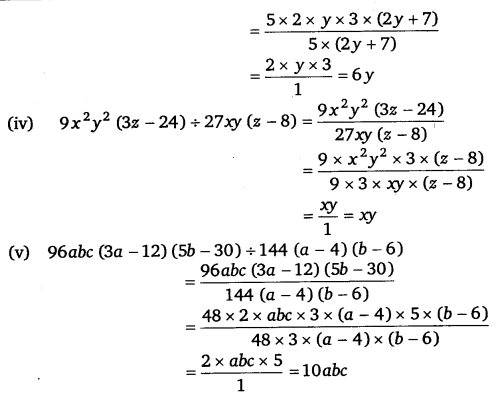 NCERT Solutions for Class 8 Maths Chapter 14 Factorisation 17
