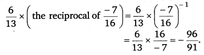 NCERT Solutions for Class 8 Maths Chapter 1 Rational Numbers 12