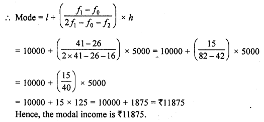 RD Sharma Class 10 Solutions Chapter 15 Statistics Ex 15.5 19a