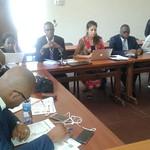 Rencontre entre le SI et les OSC, les entreprises et les journaliste à Lubumbashi nov 2018