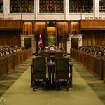 Inside Centre Block of Parliament Hill