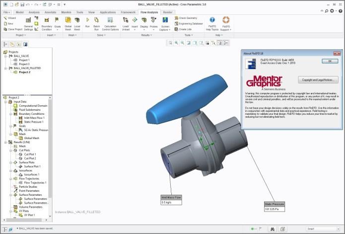 Mentor Graphics FloEFD 18.0.0 v4459 for ptc creo 3.0 full