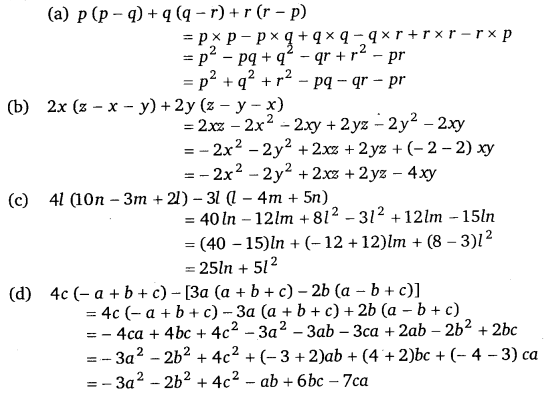 study rankers class 8 maths Chapter 9 Algebraic Expressions and Identities 15
