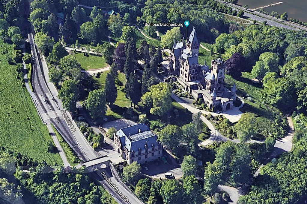 Schloss Drachenburg Map