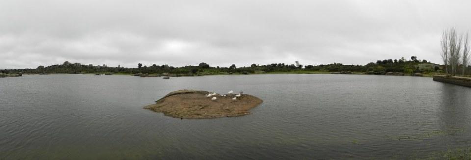 panorámica Monumento Natural de Los Barruecos Malpartida de Caceres  03