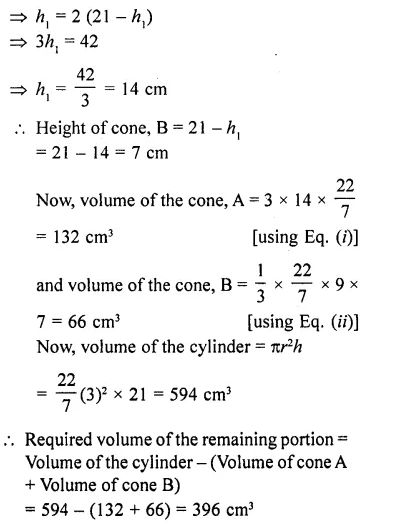 RD Sharma Class 10 Solutions Chapter 14 Surface Areas and Volumes  RV 75b