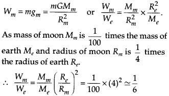 NCERT Solutions for Class 9 Science Chapter 10 Gravitation 2