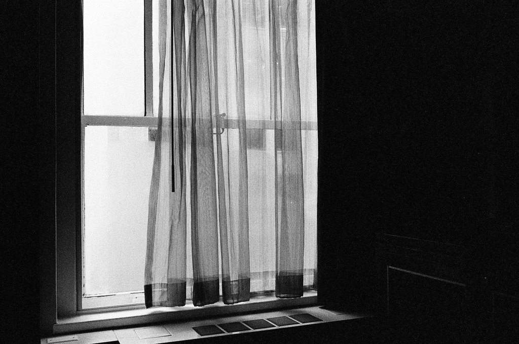 Window in our room at Hotel Allegro