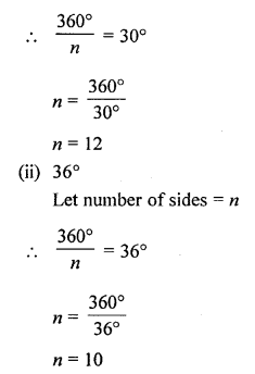 Selina Concise Mathematics Class 6 ICSE Solutions - Polygons-b3a