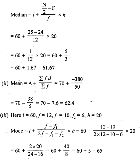RD Sharma Class 10 Solutions Chapter 15 Statistics Ex 15.5 15b