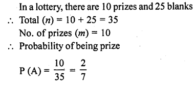 RD Sharma 10 Class Solutions Chapter 13 Probability