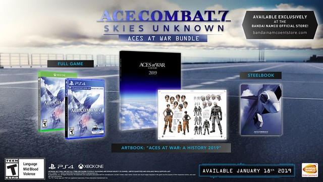 Pacchetto Ace Combat 7 Aces at War