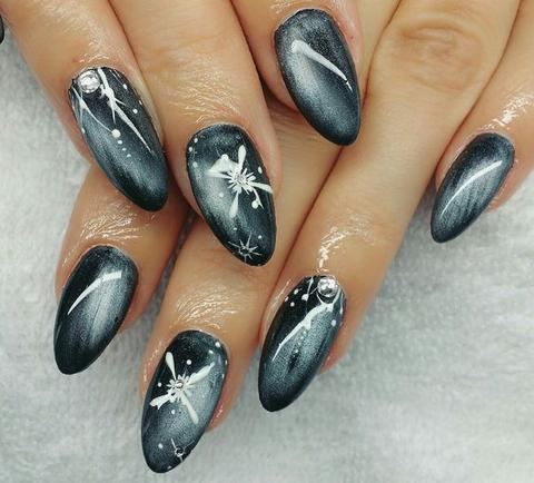 the latest cateye nail design for 2019  hairstyles 2u