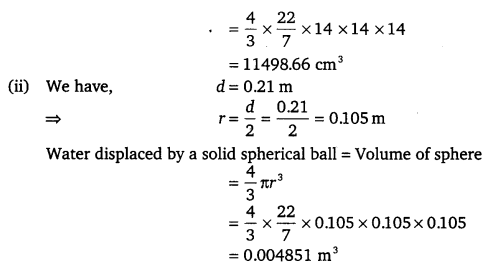 NCERT Solutions for Class 9 Maths Chapter 13 Surface Area and Volumes 56