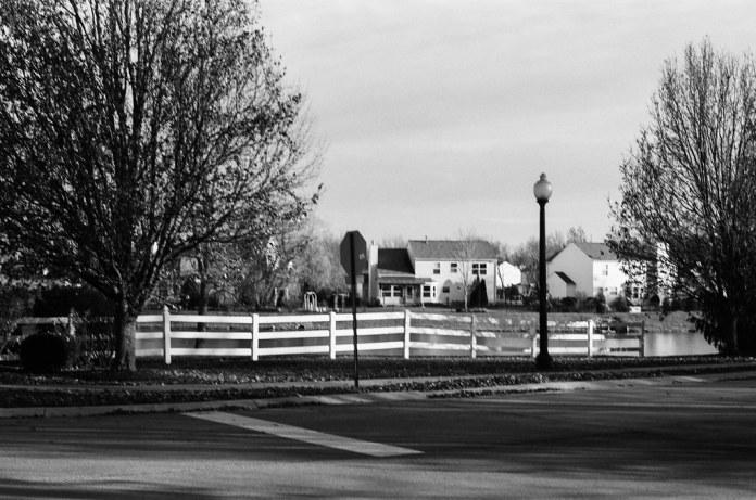 In the subdivision