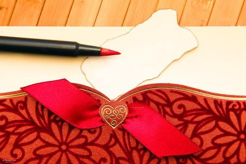 Pen on Ornamental Card