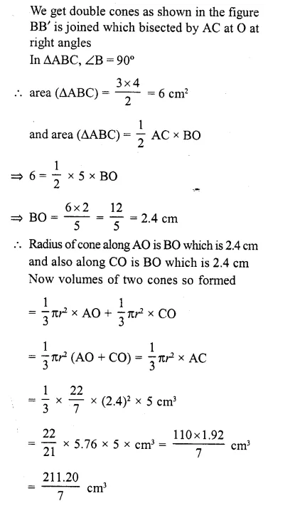 RD Sharma Class 10 Solutions Chapter 14 Surface Areas and Volumes  RV 53a