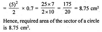 RD Sharma Class 10 Solutions Chapter 13 Areas Related to Circles Ex 13.2 - 10a