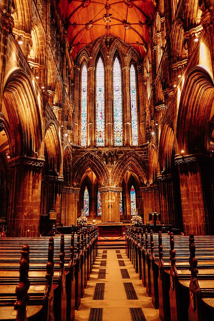 Inside Glasgow Cathedral | Ireland and Scotland Itinerary