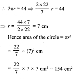 RD Sharma Class 10 Solutions Chapter 13 Areas Related to Circles Ex 13.1 6