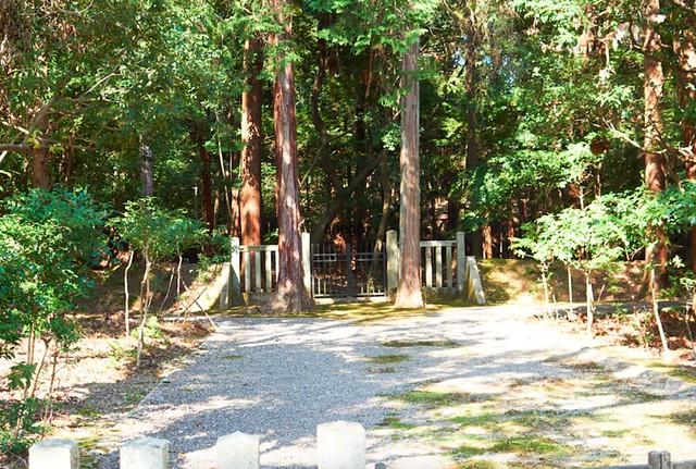亀山公園 火葬塚