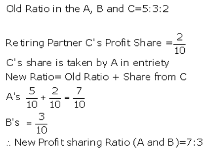 TS Grewal Accountancy Class 12 Solutions Chapter 5 Retirement Death of a Partner Q13
