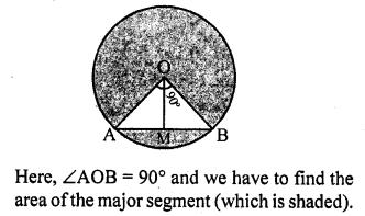 RD Sharma Class 10 Solutions Chapter 13 Areas Related to Circles Ex 13.3 - 7